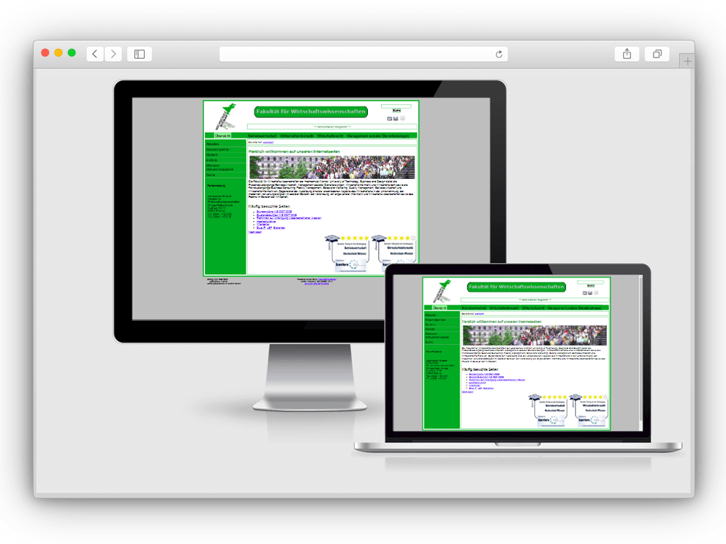 Website Relaunch Hochschule Wismar