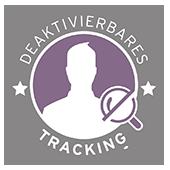 deaktivierbares Tracking